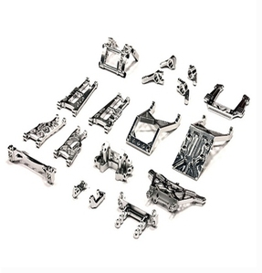 Billet Machined Alloy Conversion Set for Traxxas 1/10 2WD Monster Jam Series T8139SILVER