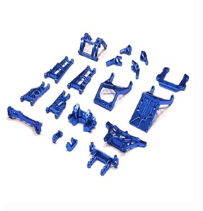 Billet Machined Alloy Conversion Set for Traxxas 1/10 2WD Monster Jam Series T8139BLUE