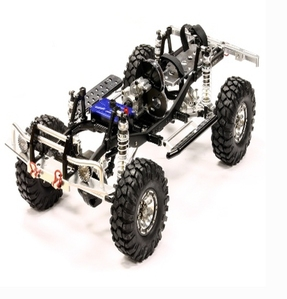 Billet Machined 1/10 Trail Roller 4WD Off-Road Scale Crawler ARTR C24866BLACKT1