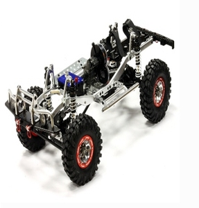 Billet Machined 1/10 Trail Roller 4WD Off-Road Scale Crawler ARTR C24866SILVERT3