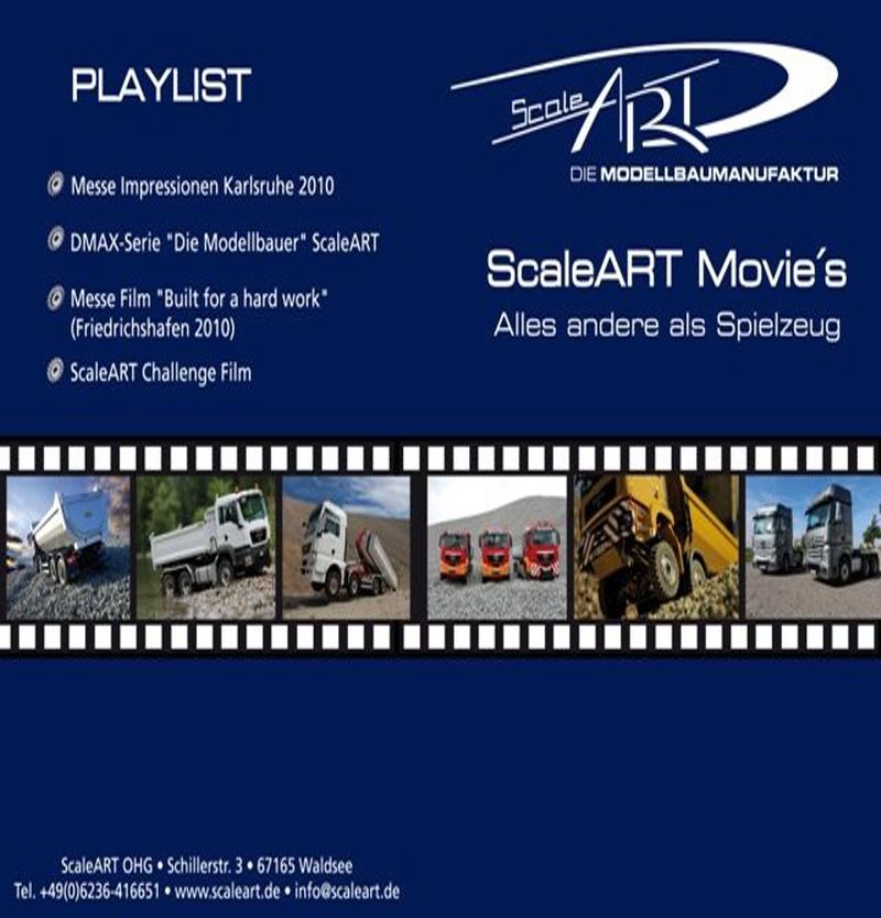 DVD ScaleART Movie-Show
