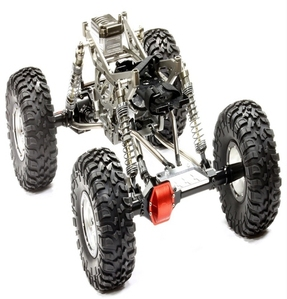 Billet Machined 1/10 Trail Racer 4WD All Terrain Scale Crawler ARTR C24966GUNT1