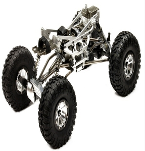 Billet Machined 1/10 Trail Racer 4WD All Terrain Scale Crawler ARTR C24966SILVERT1