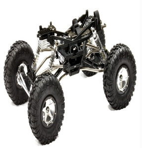 Billet Machined 1/10 Trail Racer 4WD All Terrain Scale Crawler ARTR C24966BLACKT2