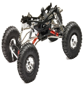 Billet Machined 1/10 Trail Racer 4WD All Terrain Scale Crawler ARTR C24966BLACKT3