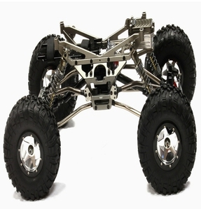 Billet Machined 1/10 Trail Racer 4WD All Terrain Scale Crawler ARTR C24966GUNT2