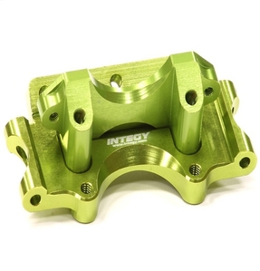 Billet Machined Front Bulkhead for 1/10 Traxxas Slash 2WD T8665GREEN