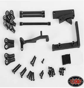 [Z-S0923]Chassis Mounted Steering Servo Kit with Panhard Bar for Axial SCX10