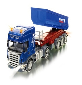 [1219] 6725 Scania with tipping Trailer and Remote control