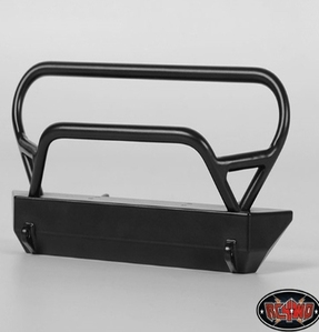[Z-S1193]Tough Armor Winch Bumper with Grill Guard for Axial Jeep Rubicon