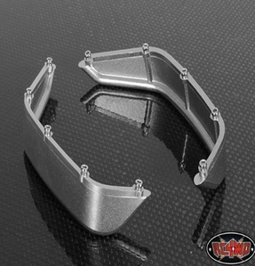 [Z-S1150]Aluminum Tube Rear Fender for Axial Jeep Rubicon (Silver)