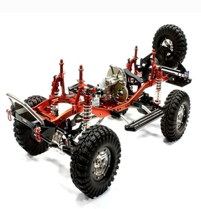 Billet Machined 1/10 Size TR310 Trail Roller 4WD Off-Road Scale Crawler ARTR C25310REDBLACKT1 New Item