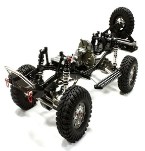 Billet Machined 1/10 Size TR310 Trail Roller 4WD Off-Road Scale Crawler ARTR C25310BLACKT1