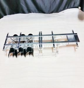 [신제품] 타미야 트레일러용 1/14 40피트 풀알미늄 CNC 풀셋
