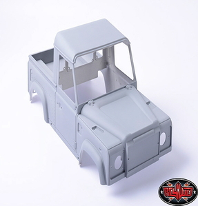 [Z-B0058] 1/10 Land Rover Defender D90 Pick Up Truck Hard Plastic Body Kit