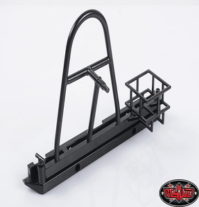 [Z-S1296] Tough Armor Swing Away Tire Carrier w/Fuel holder for the Gelande 2