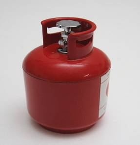 [  DO-000123 ] Scale gas bottle RED [가스통/레드]