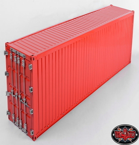 [Z-H0008] RC4WD 1/14 All Metal 40' Shipping Container (Red)