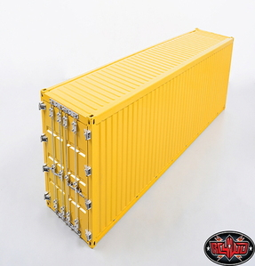 [Z-H0010] RC4WD 1/14 All Metal 40' Shipping Container (Yellow)