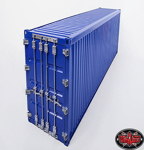 [Z-H0012] RC4WD 1/14 All Metal 40' Shipping Container (Blue)