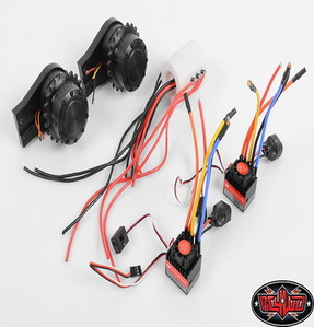 [VVV-S0040] Earth Digger Excavator Brushless Track Upgrade Kit