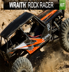 Axial Wraith 1/10th Scale Electric 4WD KIT