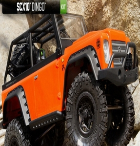 [AX90021] Axial SCX10 Dingo 1/10th Scale Electric 4WD KIT