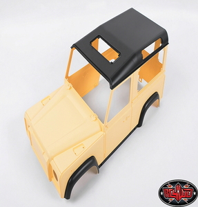 [Z-B0060] 1/10 Land Rover Defender D90 Limited Edition Pre-painted Yellow Body