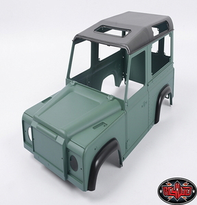 [Z-B0062] 1/10 Land Rover Defender D90 Limited Edition Pre-painted Green Body