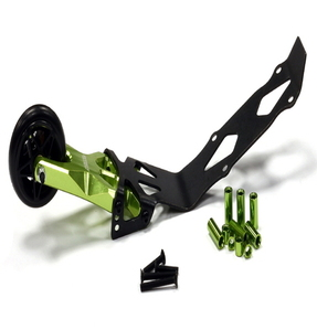 [T4121GREEN] Evolution-6 Billet Machined Alloy Wheelie Bar for Traxxas 1/10 E-Revo & Summit