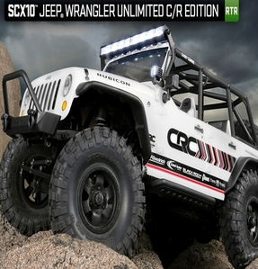 [AX90035-R] Axial SCX10 Jeep® Wrangler Unlimited C/R Edition 1/10th Scale RTR [3채널 송수신기 포함 RTR 제품입니다]
