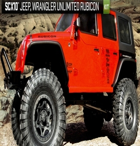 [AX90027] Axial SCX10™ Jeep® Wrangler Unlimited Rubicon 1/10th Scale Electric KIT