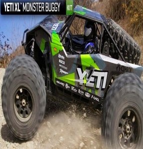 [AX90038] Axial YETI™ X-LARGE MONSTER BUGGY 1/8th Scale Electric 4WD - PRO KIT (예티 XL 프로키트)