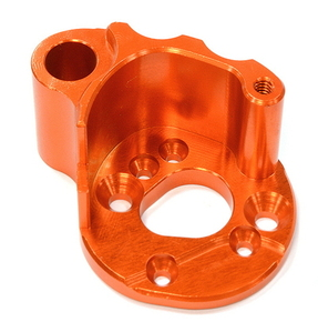 [C25774ORANGE] Billet Machined Heatsink Motor Mount for Traxxas 1/10 Summit