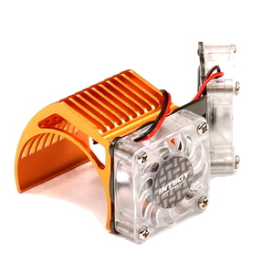 [2961ORANGE] Twin Motor Cooling Fan + Heatsink 540/550