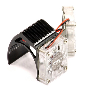 [2961BLACK] Twin Motor Cooling Fan + Heatsink 540/550