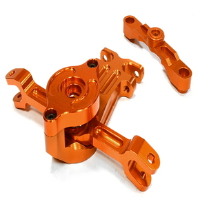 [C26054ORANGE] Billet Machined Steering Bell Crank for Traxxas 1/10 Scale Summit 4WD