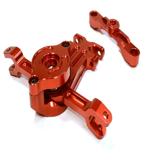 [C26054RED] Billet Machined Steering Bell Crank for Traxxas 1/10 Scale Summit 4WD