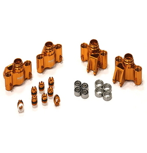 [T4114ORANGE] Evolution-6 Steering Block(4) for 1/10 E-Revo Summit Slayer Maxx 3903/5/8 4907/8