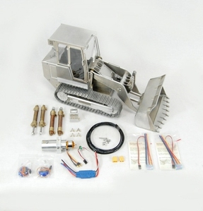 [15%할인특가][1/14 풀메탈 로더] TL14 1/14 Full metal Track Loader KIT + Hydraulics + Electronics
