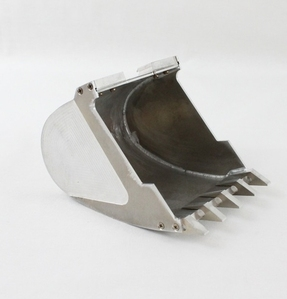 Metal bucket for 1/14 excavator