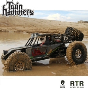 (트윈해머/쌍망치) Vaterra Twin Hammers 1/10 4WD RTR Electric Rock Racer w/DX3e 2.4GHz RTR
