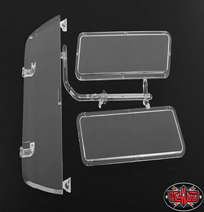 [Z-B0110] Chevrolet Blazer Topper Clear Window Parts Tree