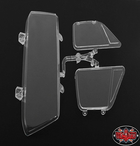 [Z-B0114] Chevrolet Blazer Main Cab Clear Window Parts Tree