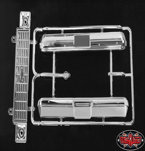 [Z-B0094] Chevrolet Blazer Chrome Grill and Bumper Parts Tree