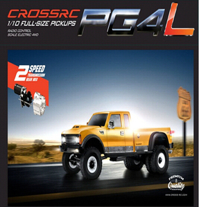 [90100021] CROSS 1/10 PG4L 스케일 4X4트럭