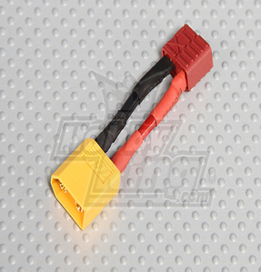 Male XT60  Female T-Connector (1pc/bag)