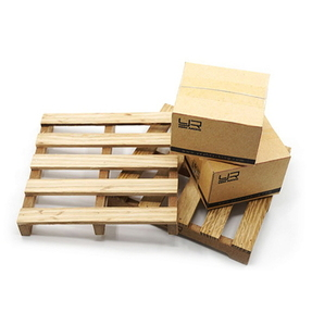 (#YA-0399) 1/10 RC Crawler Truck Accessory Wooden Loading Pallet