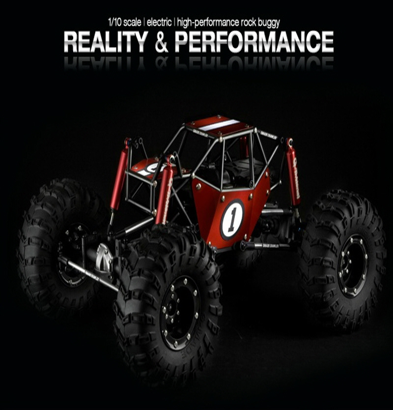 Gmade Crawler R1 ROCK BUGGY ARTR (Black)