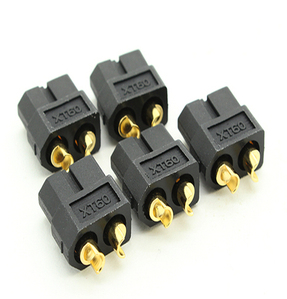 Black Female XT60 Connectors (5pcs)